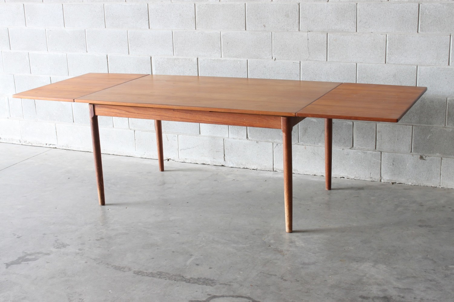 Teak Extendable Table