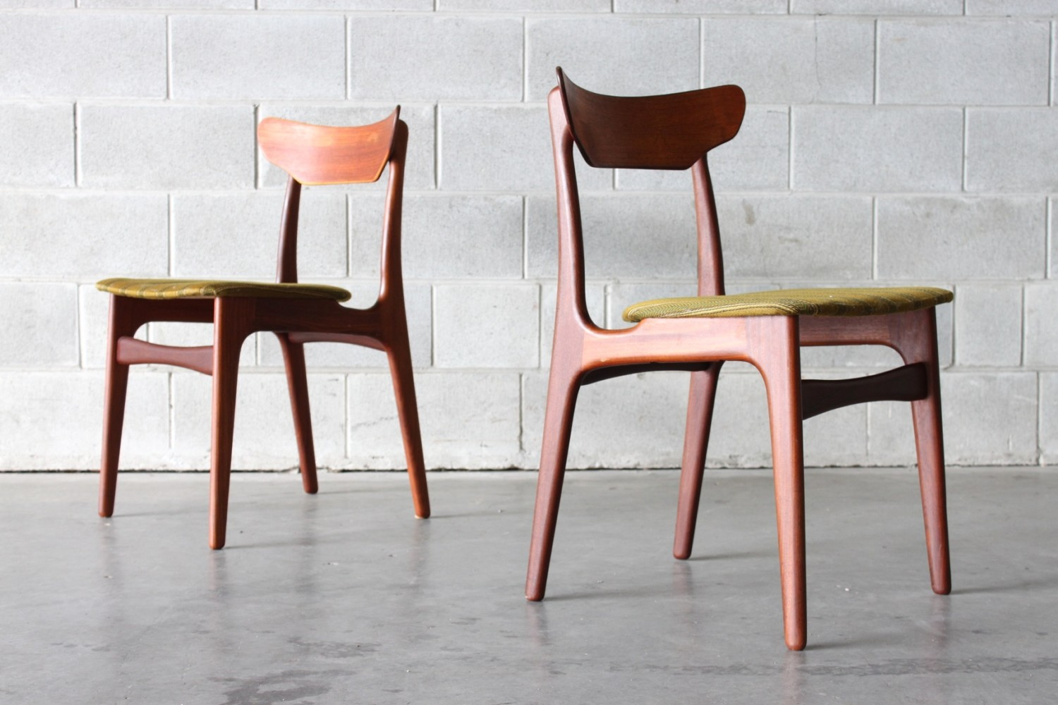 Danish Dining Chairs by SchiØnning & Elgaard