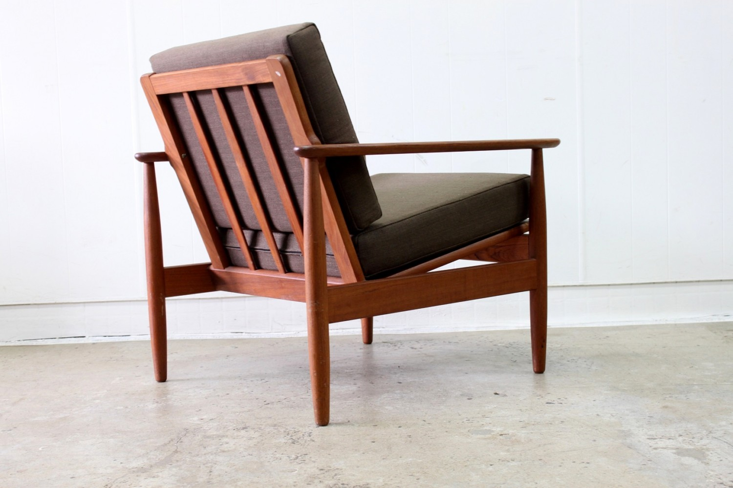 Pair of Teak Easy Chairs