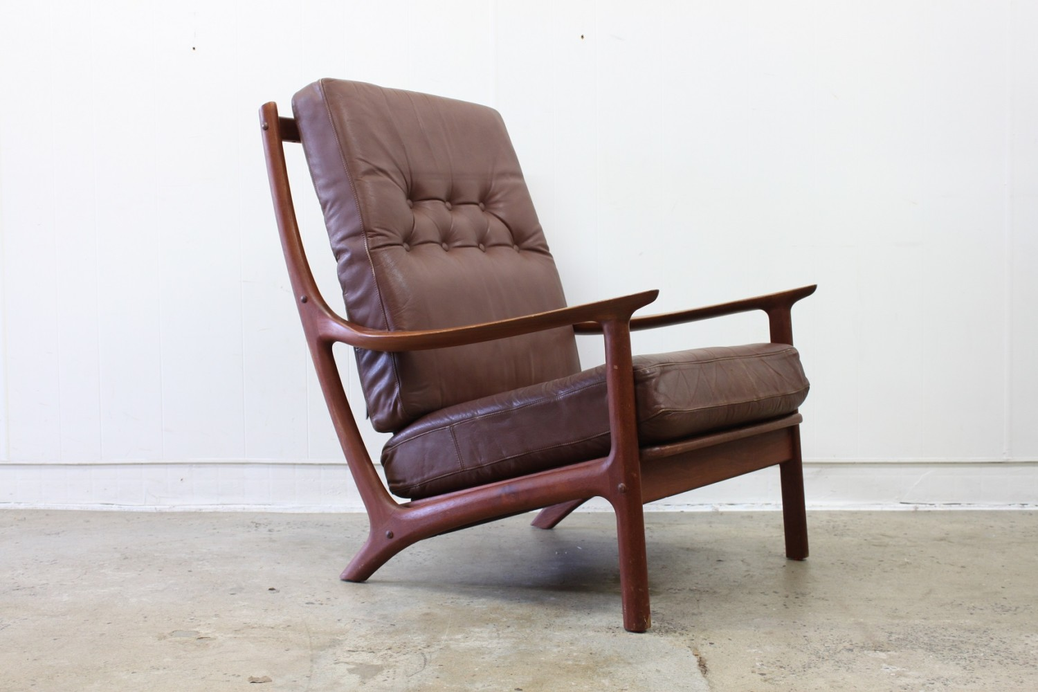 Leather Armchairs by Bramin