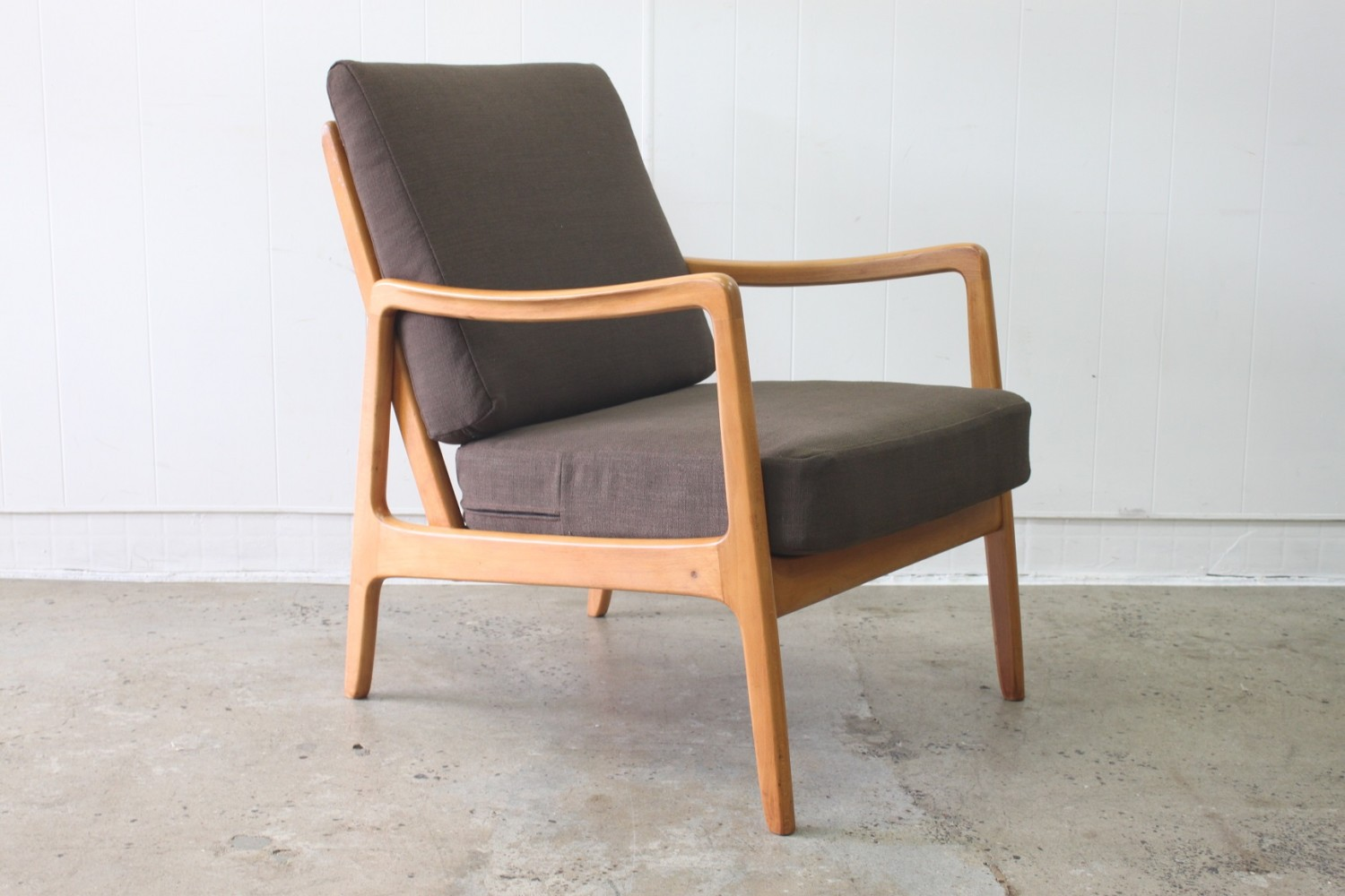 Pair of Ole Wanscher Armchairs