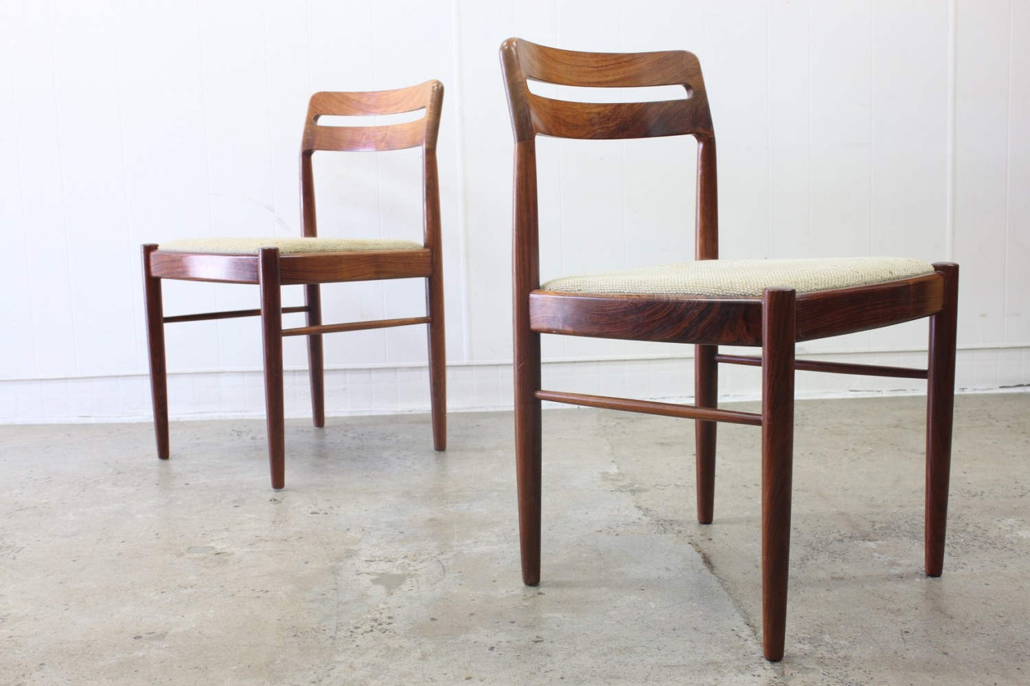 Rosewood Dining Chairs by Bramin x8