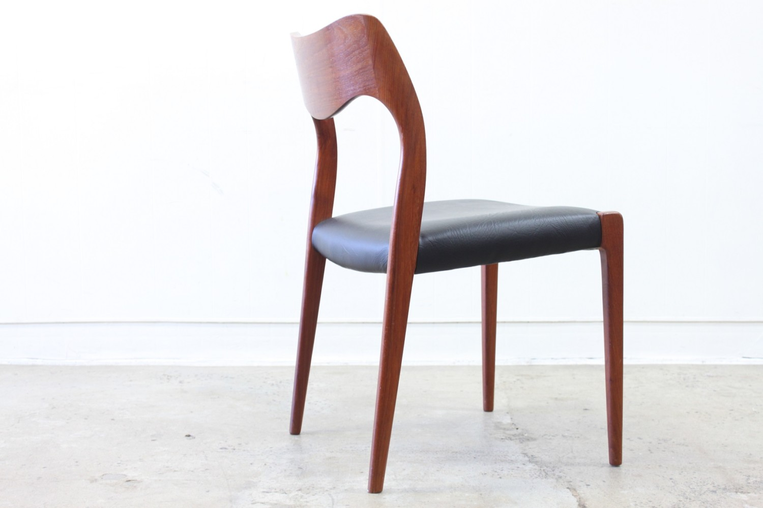 Teak Dining Chairs by J H Moller