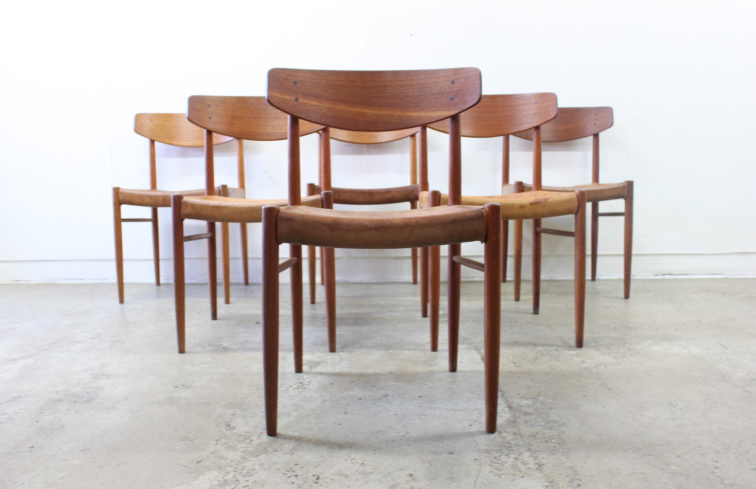 Dining Chairs by Borge Mogensen