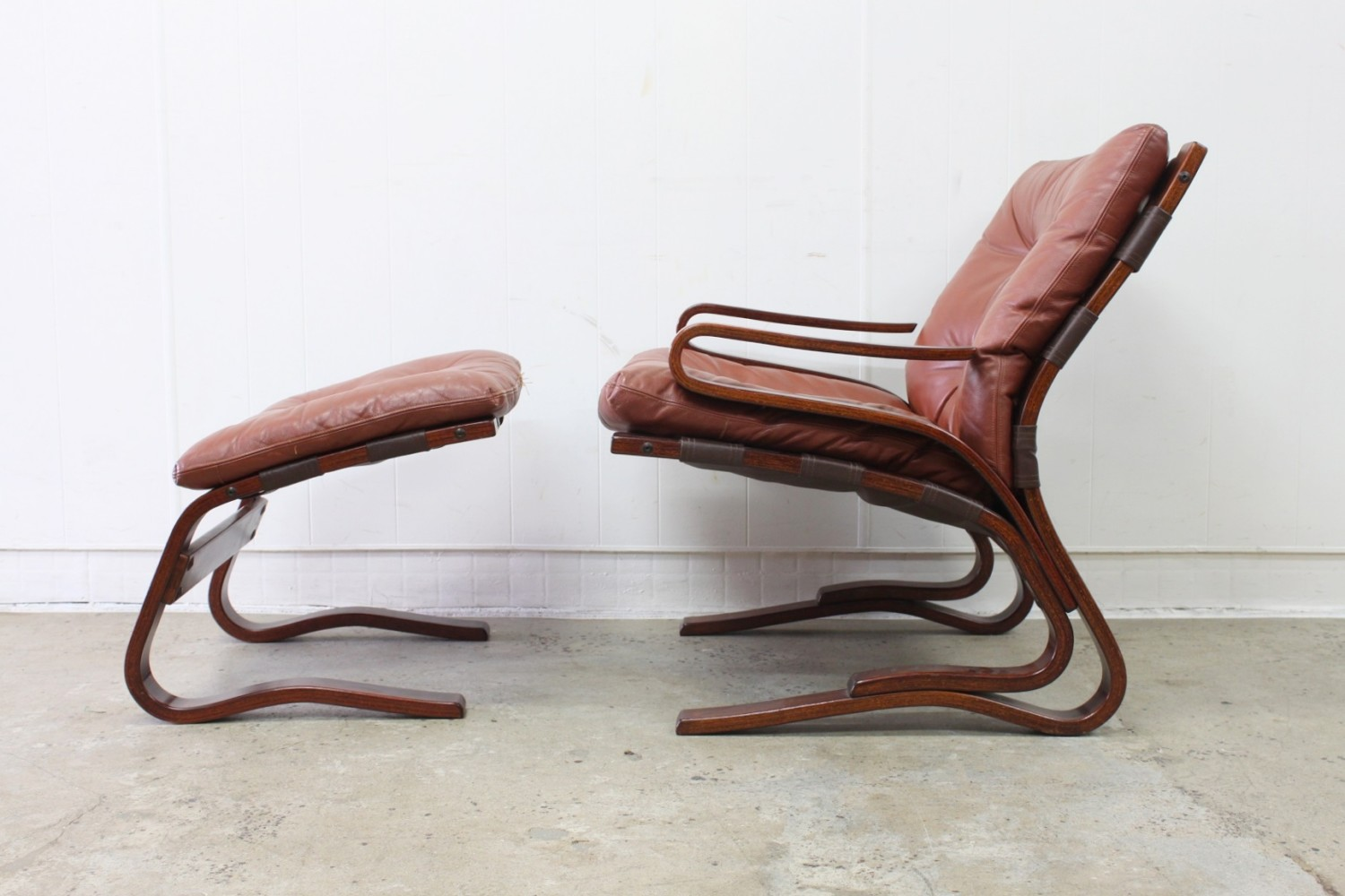 Danish leather Sling Chair