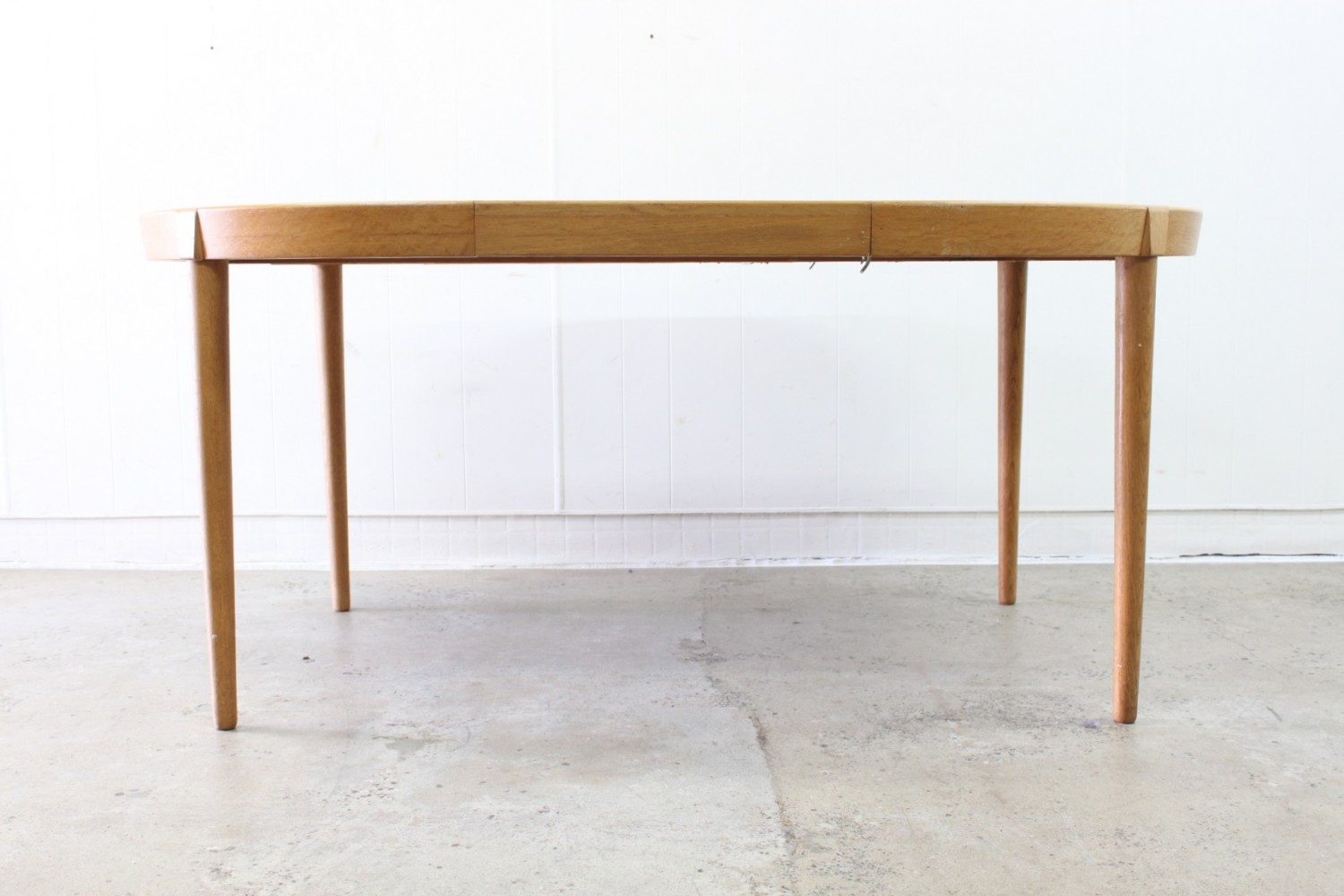 Extendable Oak Dining Table By Harry Ostergaard The Vintage Shop