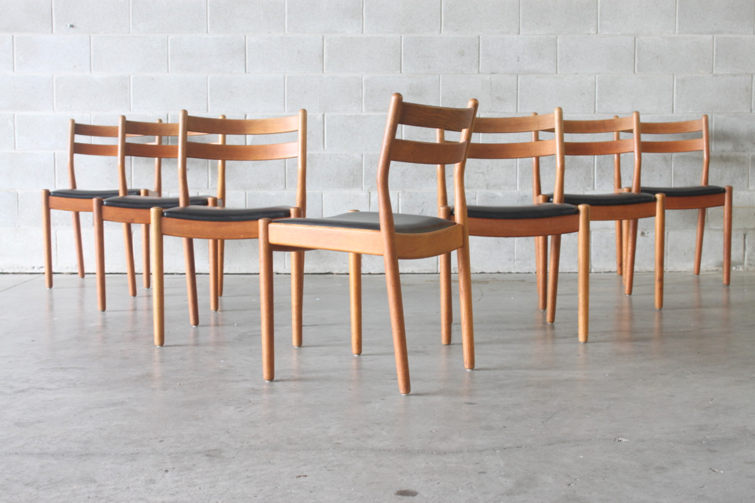 Dining Chairs by Poul Volther
