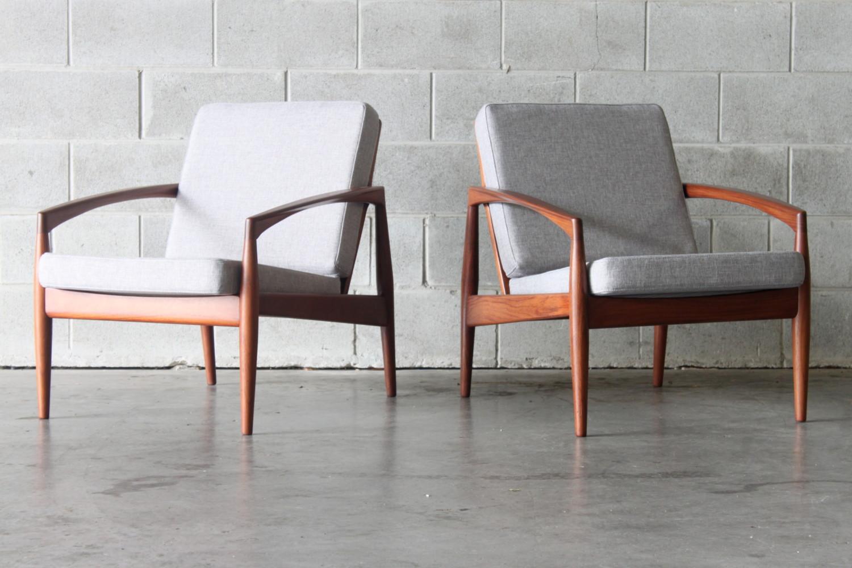 Armchairs by Kai Kristiansen