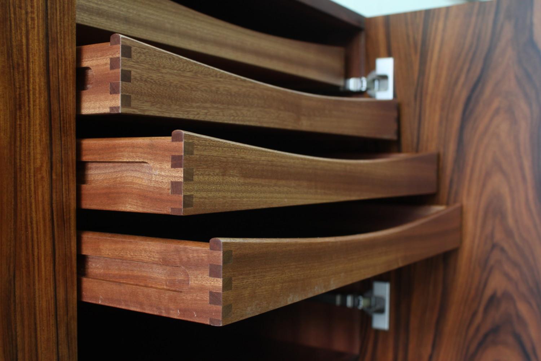 Rosewood Sideboard by Bernhard Pedersen