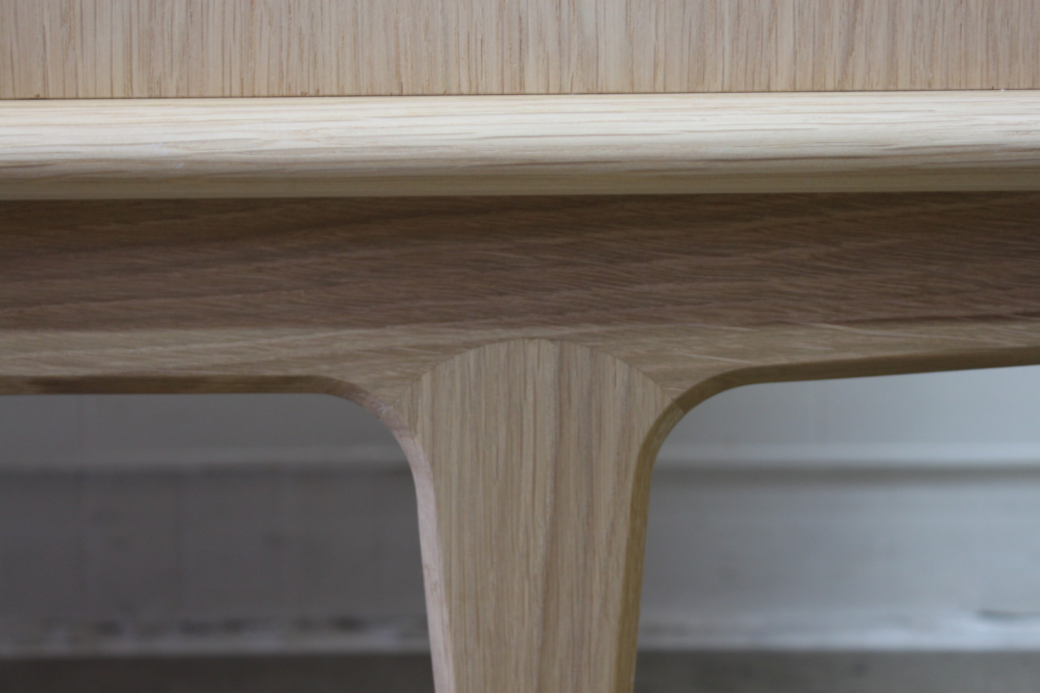 Soaped Oak Sideboard by Bernhard Pedersen