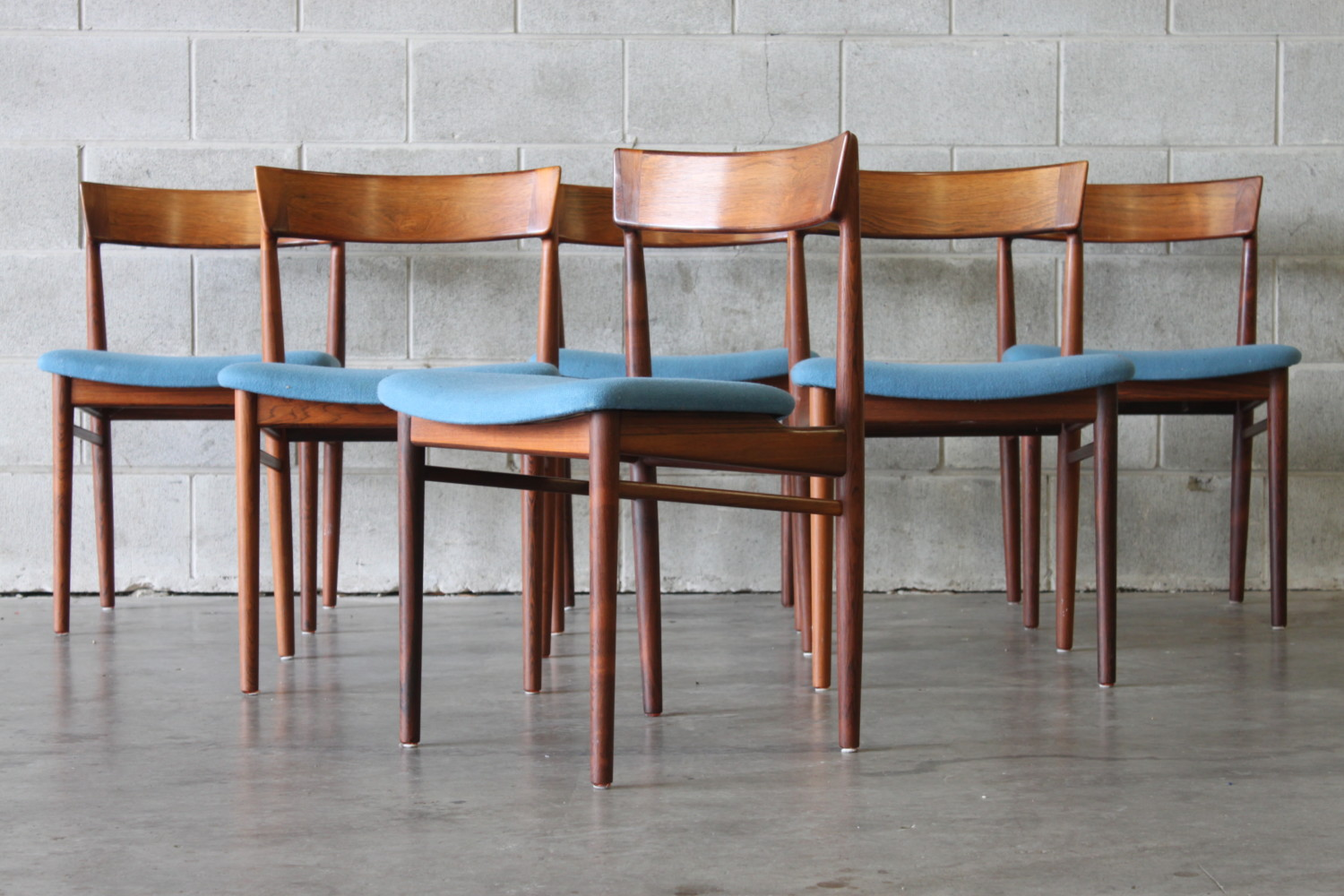Danish Rosewood Dining Chairs – Sold
