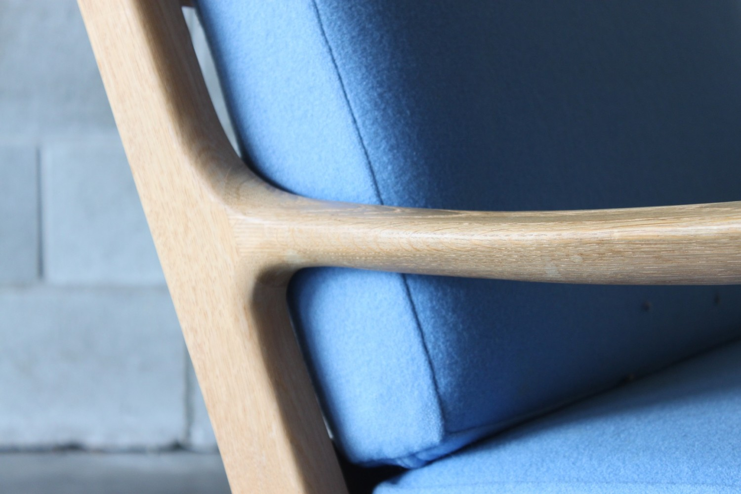 Oak Armchairs by Ole Wanscher