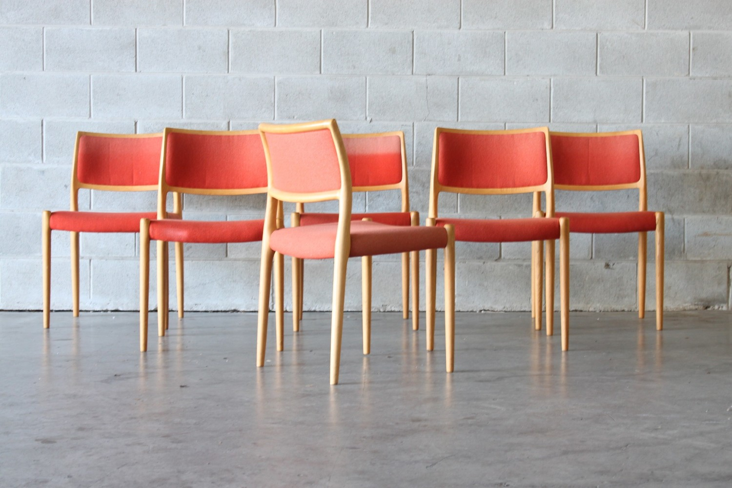 Dining Chairs by Niels Moller Sold