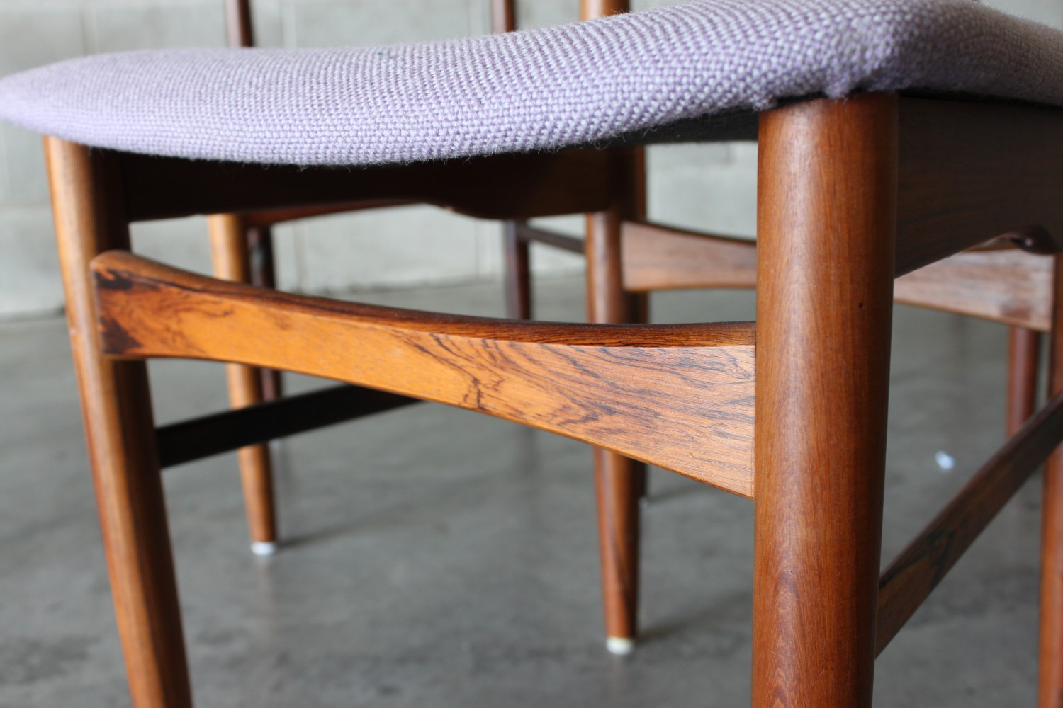 Rosewood Dining Chairs Skovby