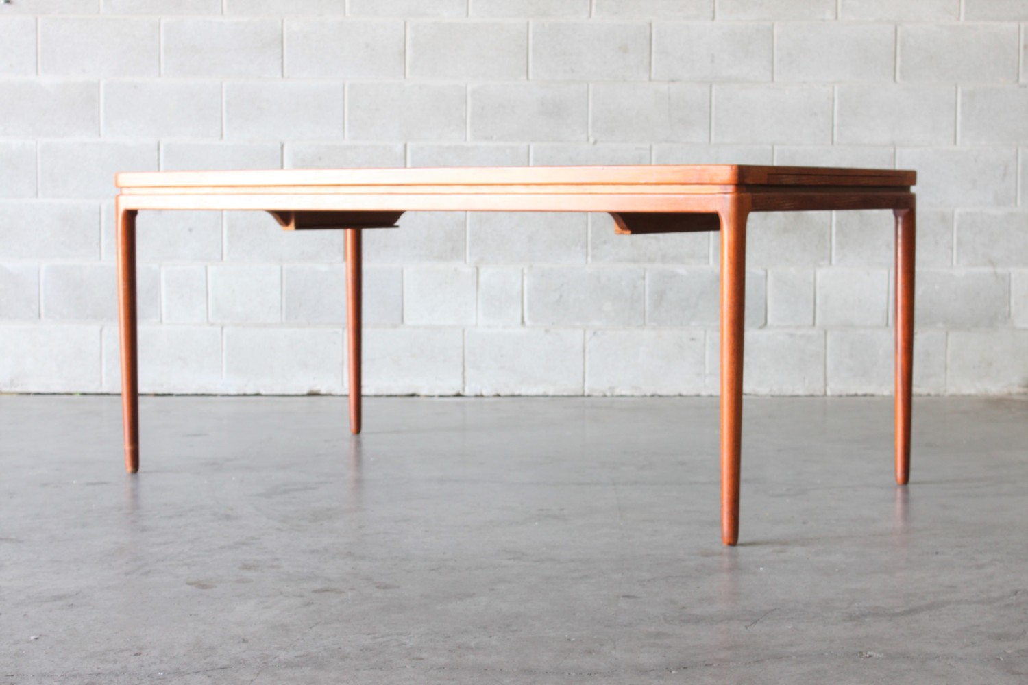 Teak Dining Table By Johannes Anderson