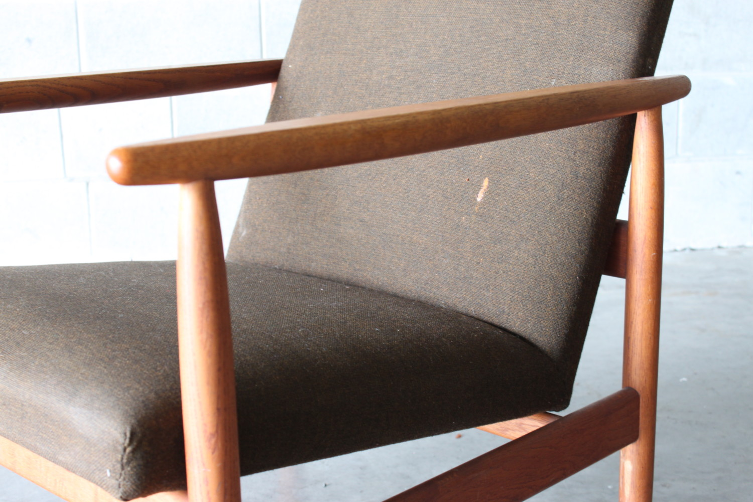 Pair of Danish Armchairs By Ejvind Johansson