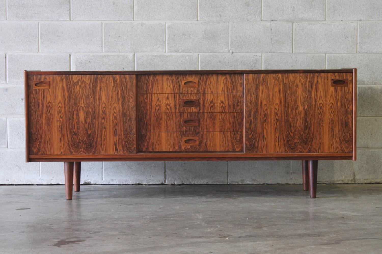 Rosewood Sideboard By Arne Hovmand Olsen