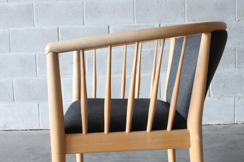 Pair of Danish Chairs Beech