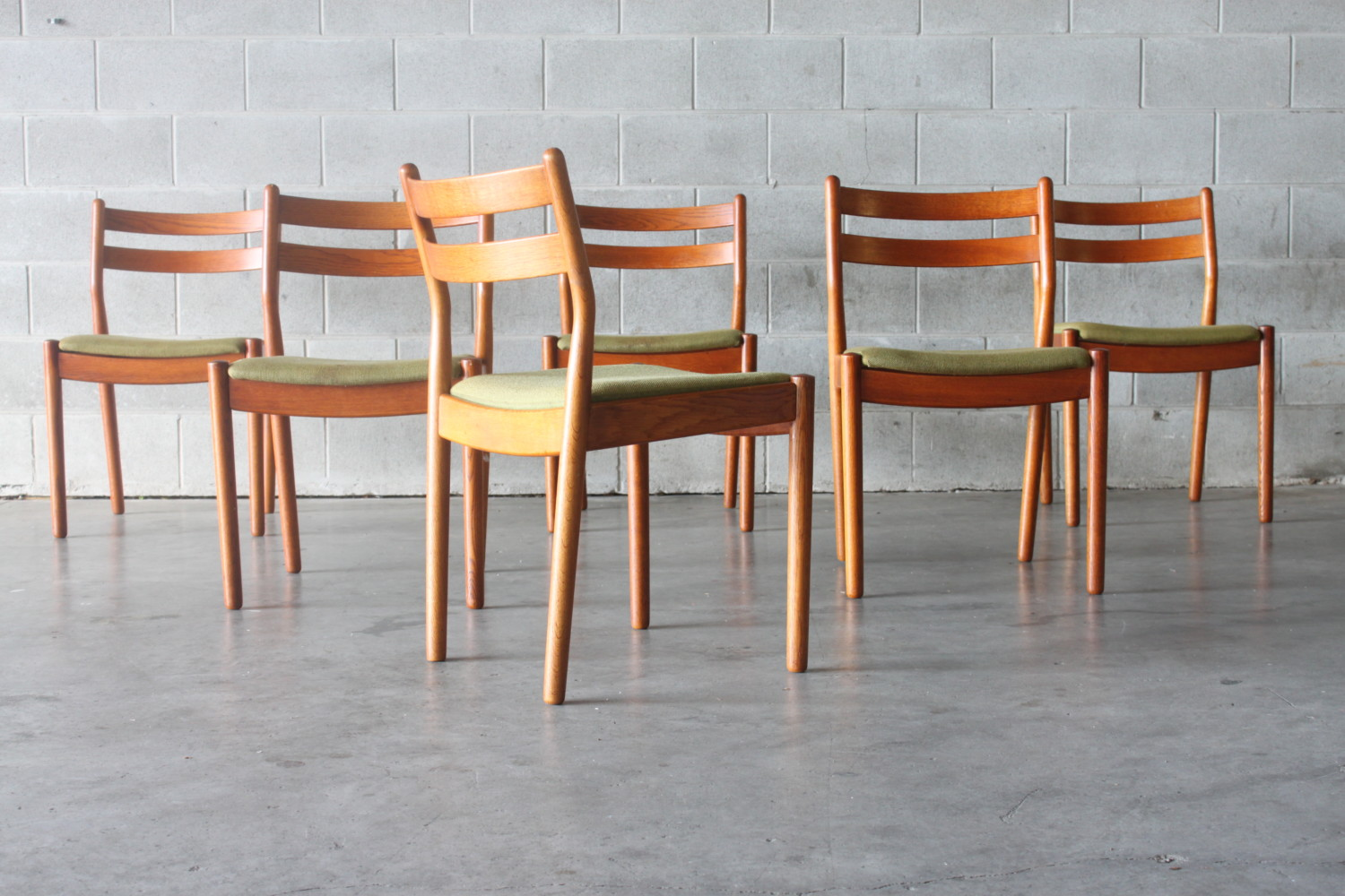 Dining Chairs by Poul Volter