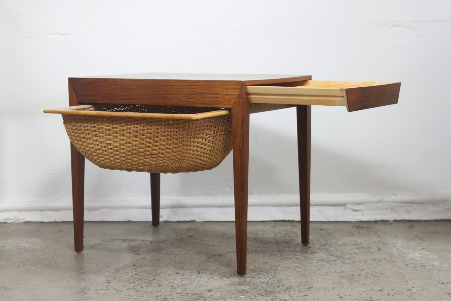 Danish Sewing Table by Severin Hansen