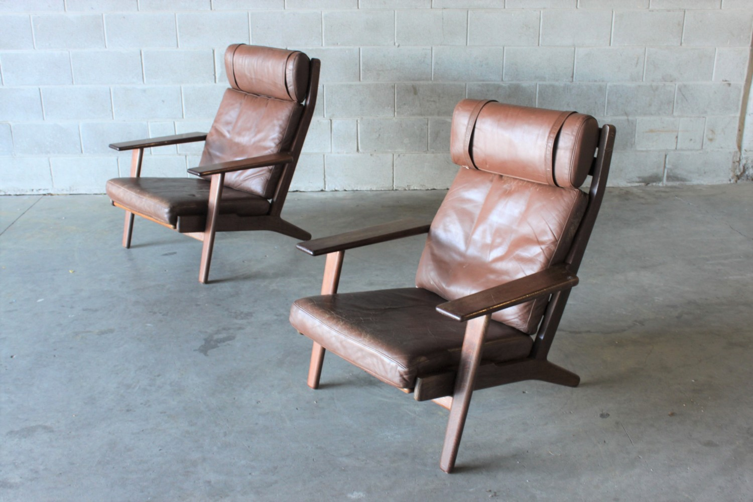 Armchairs by Hans Wegner Sold