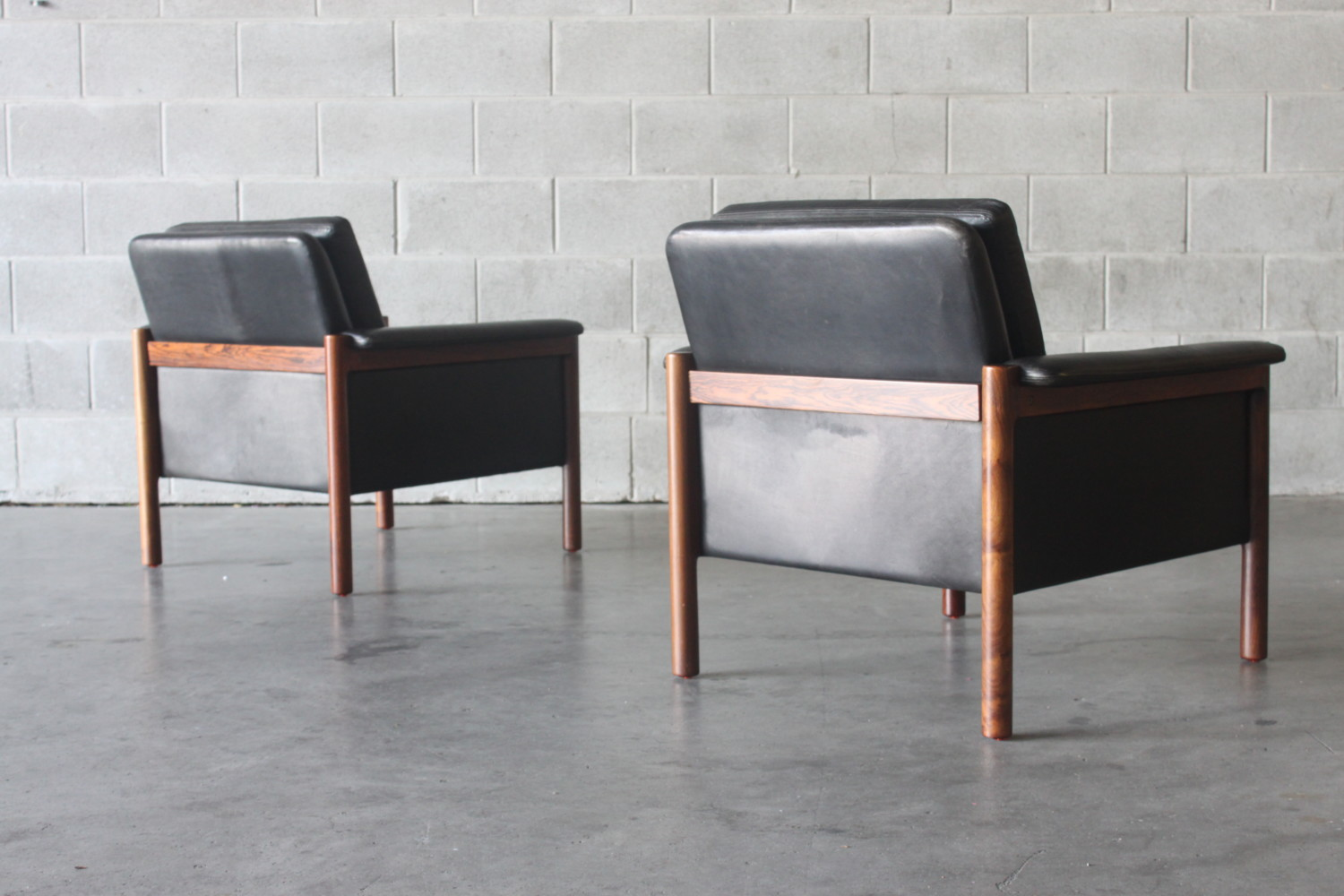 Pair of Armchairs By Kurt Ostervig