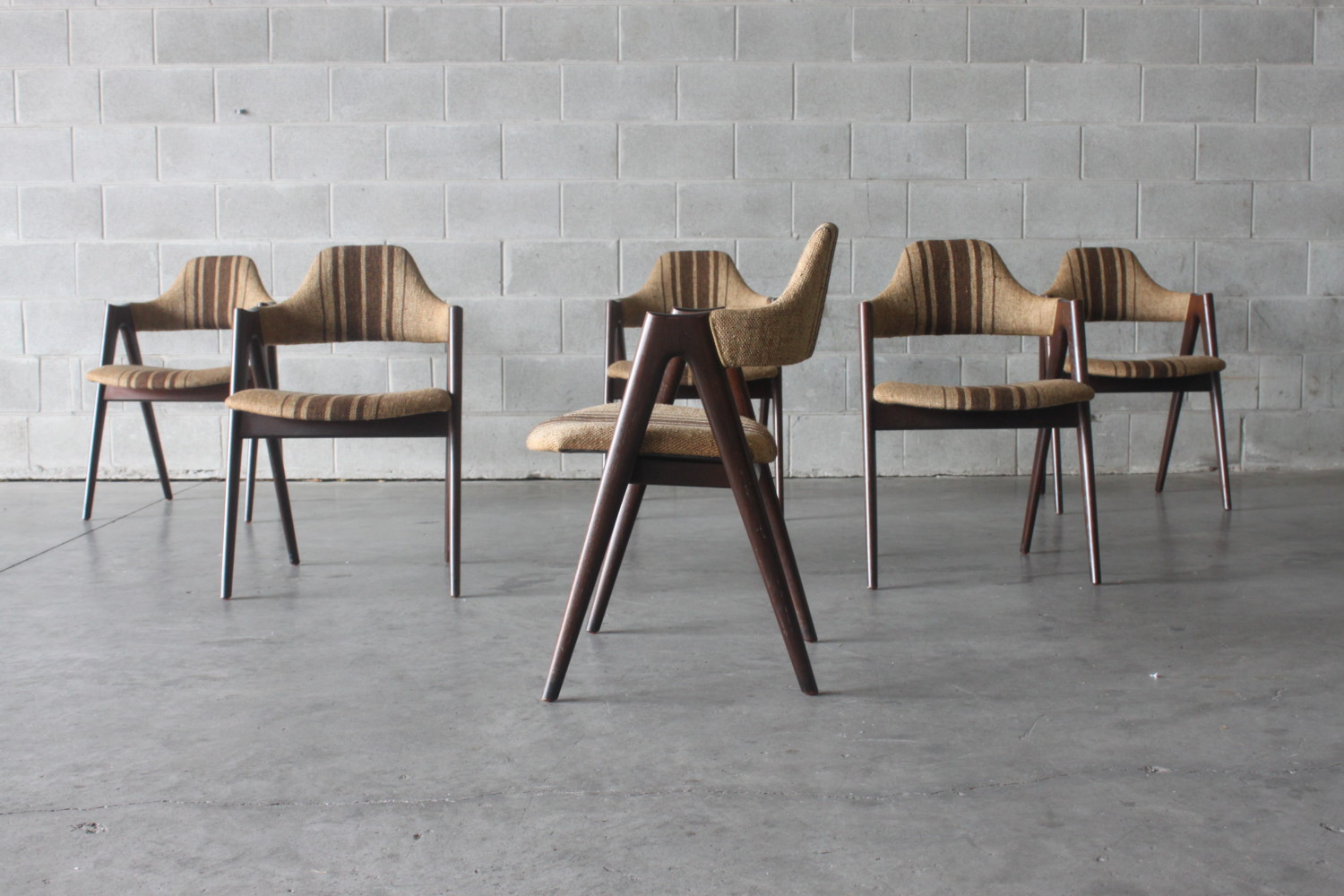 Dining Chairs by Kai Kristiansen Sold
