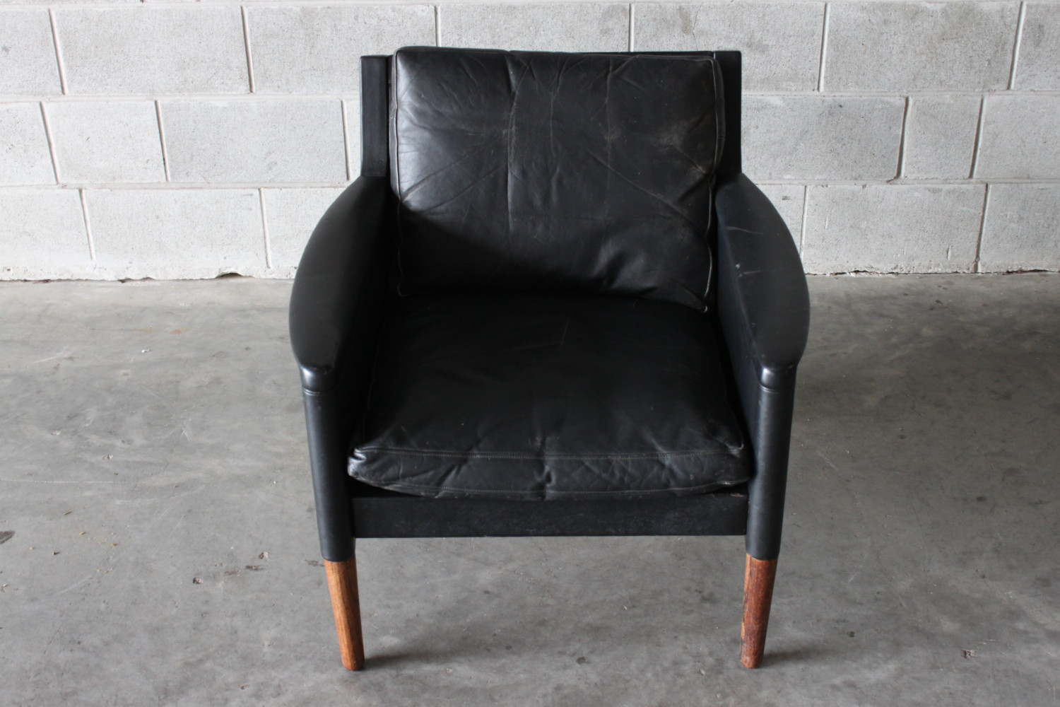 Leather Armchair by Kurt Ostervig model #55