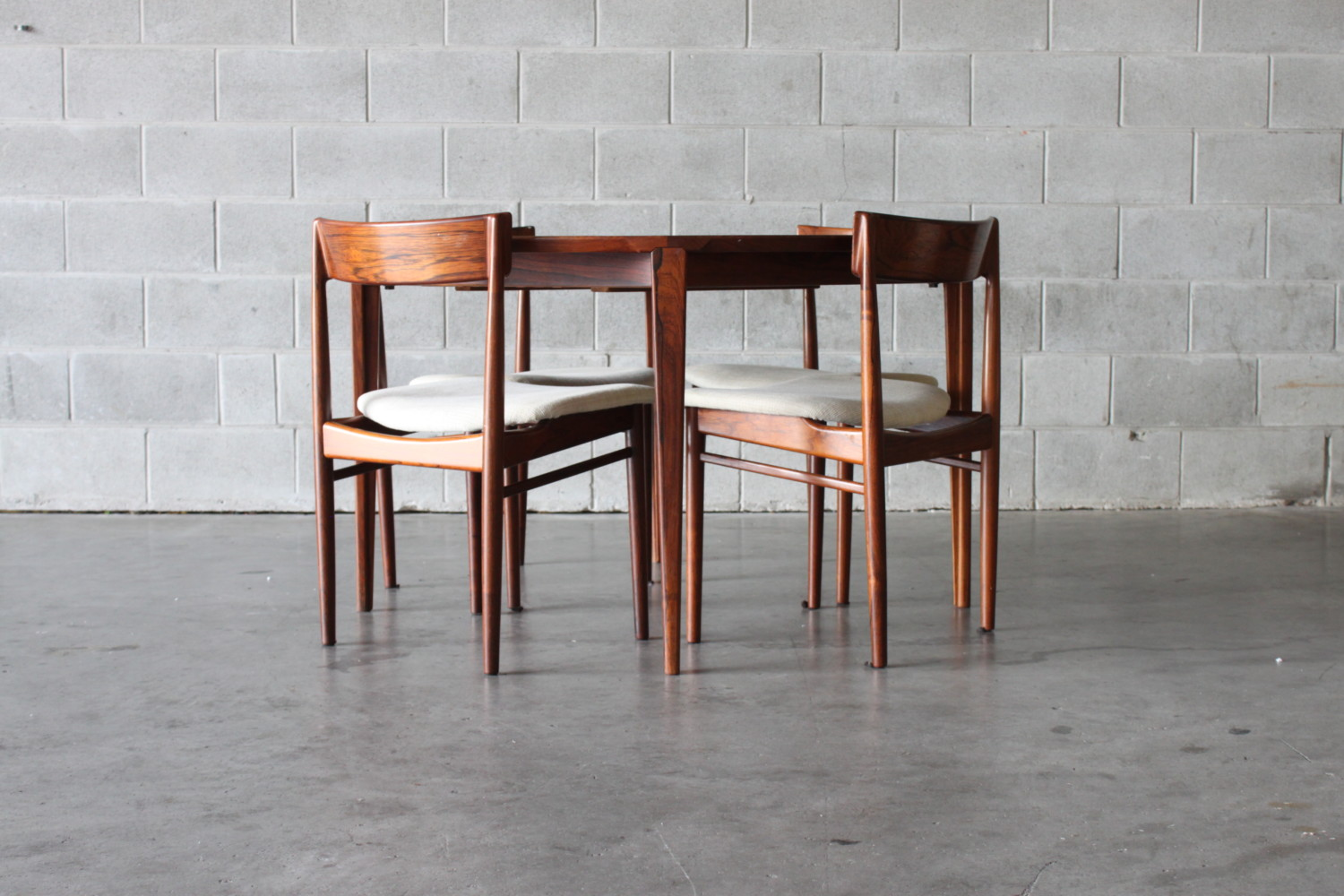 Rosewood Dining Chairs Sold