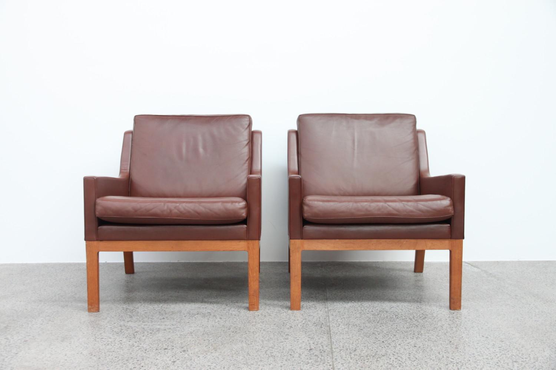 Oak & Leather Lounge Suite