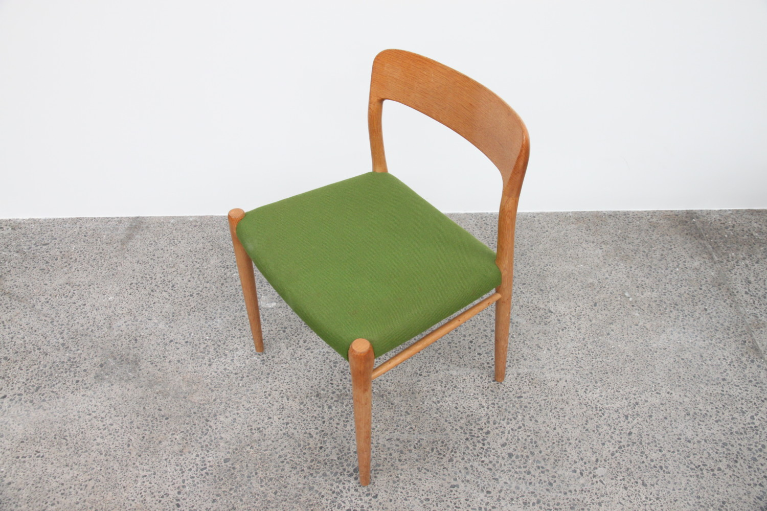 Oak Dining Chairs by Niels Moller
