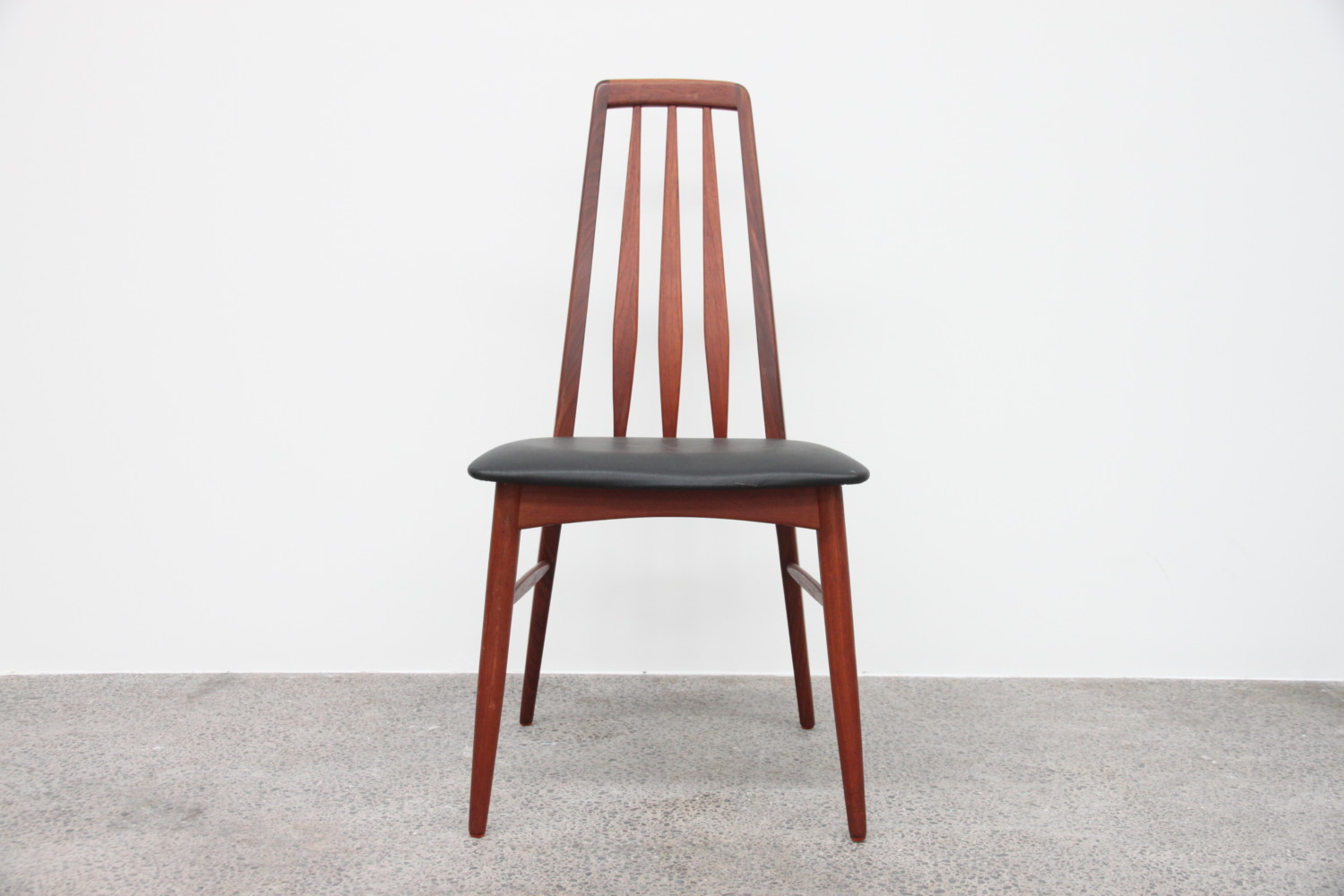 Danish High Back Dining Chairs by Niels Koefoed sold