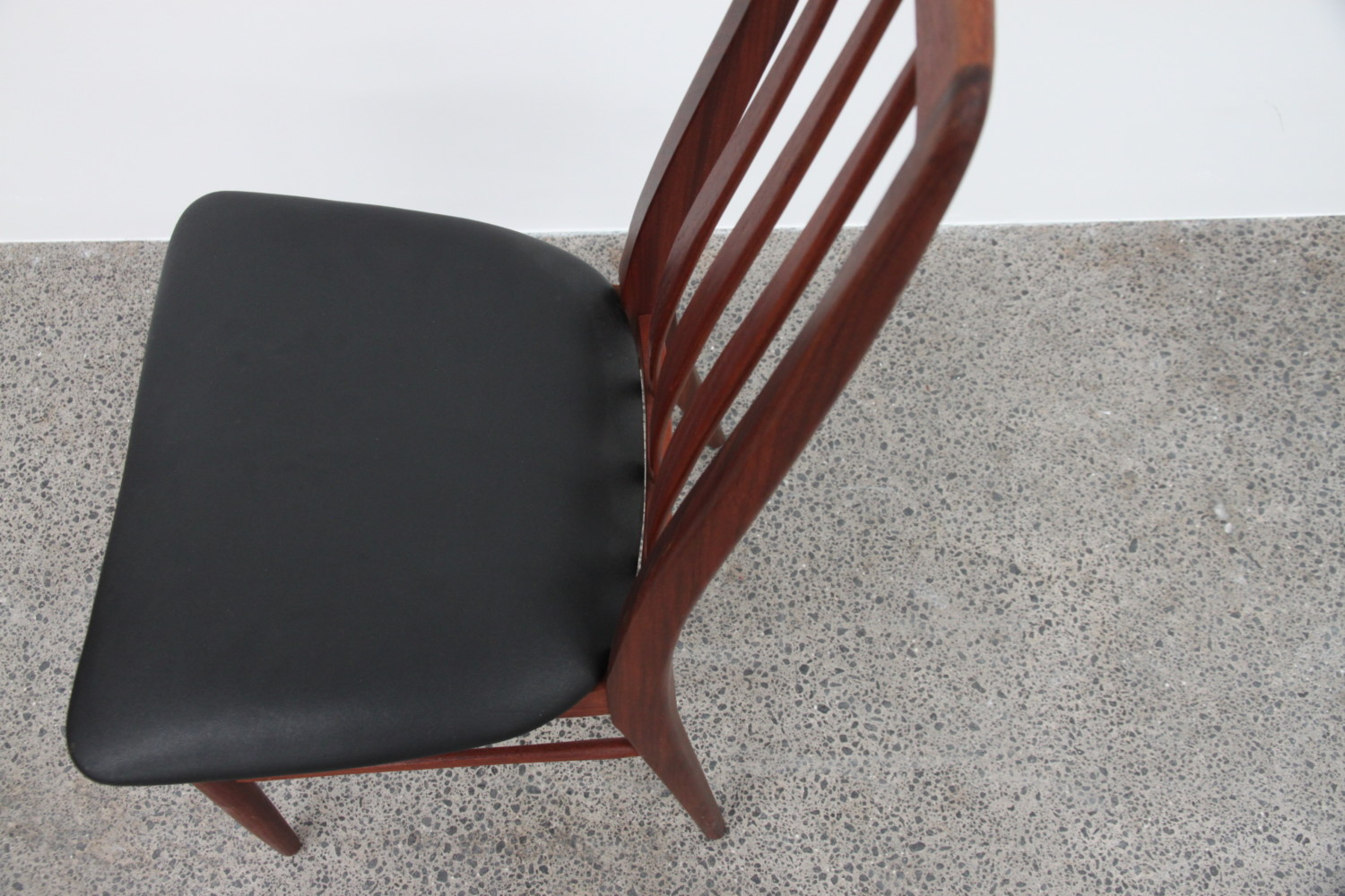 Danish High Back Dining Chairs by Niels Koefoed