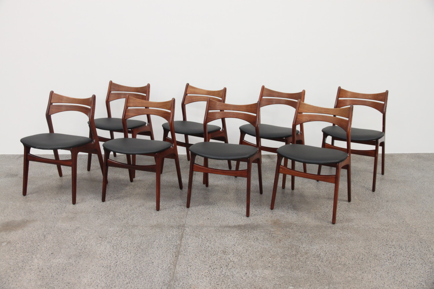 Erik Buch Dining Chairs Rosewood Sold