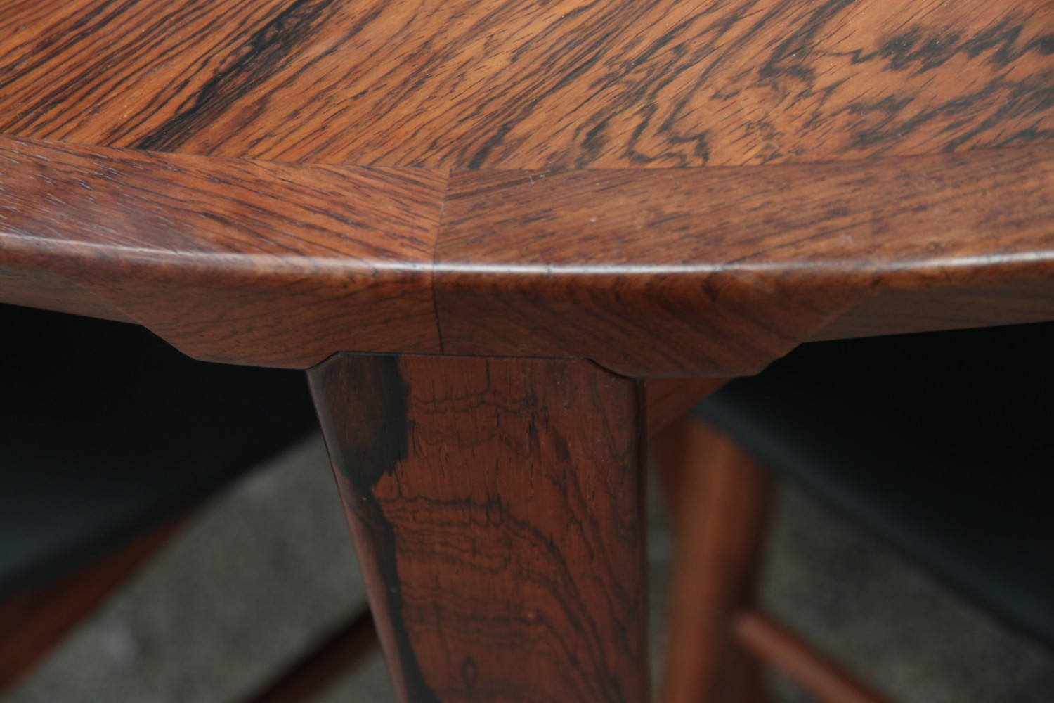 Rosewood Extendable Table