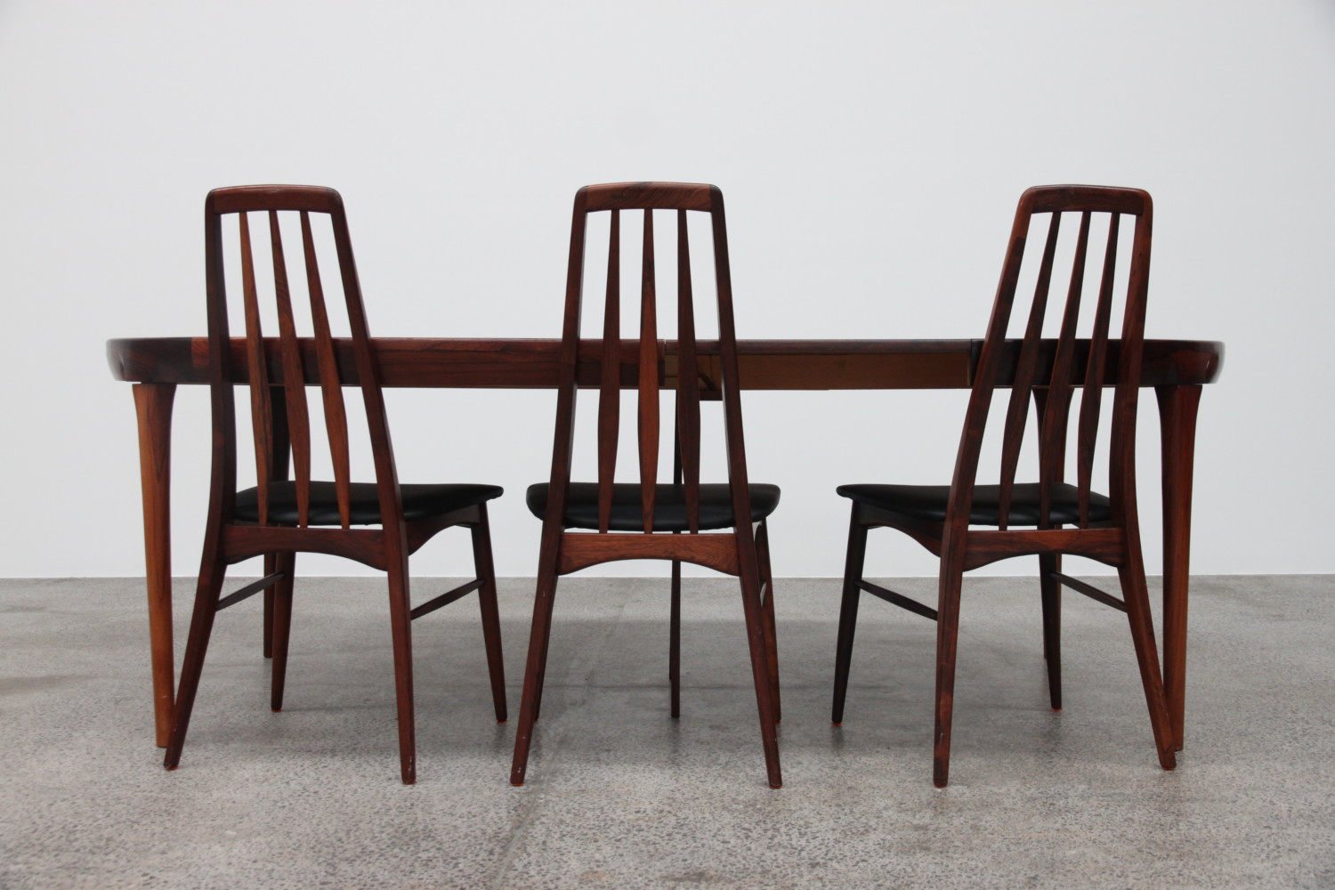 Extendable Rosewood Dining Table By IB Kofod Larsen