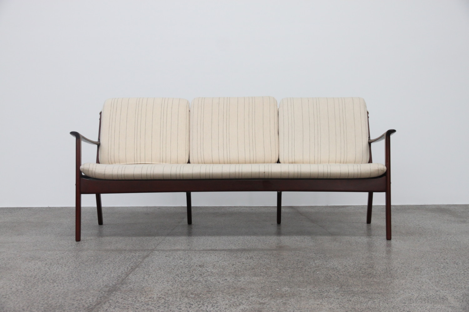 Sofa + Armchairs by Ole Wanscher