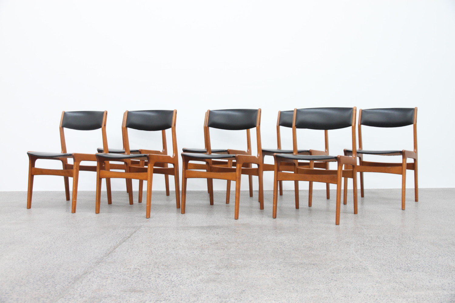 x8 Danish Dining Chairs