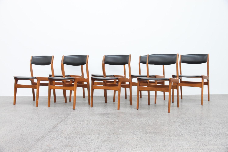 x8 Danish Dining Chairs