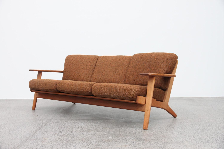 Plank sofa by Hans Wegner Sold