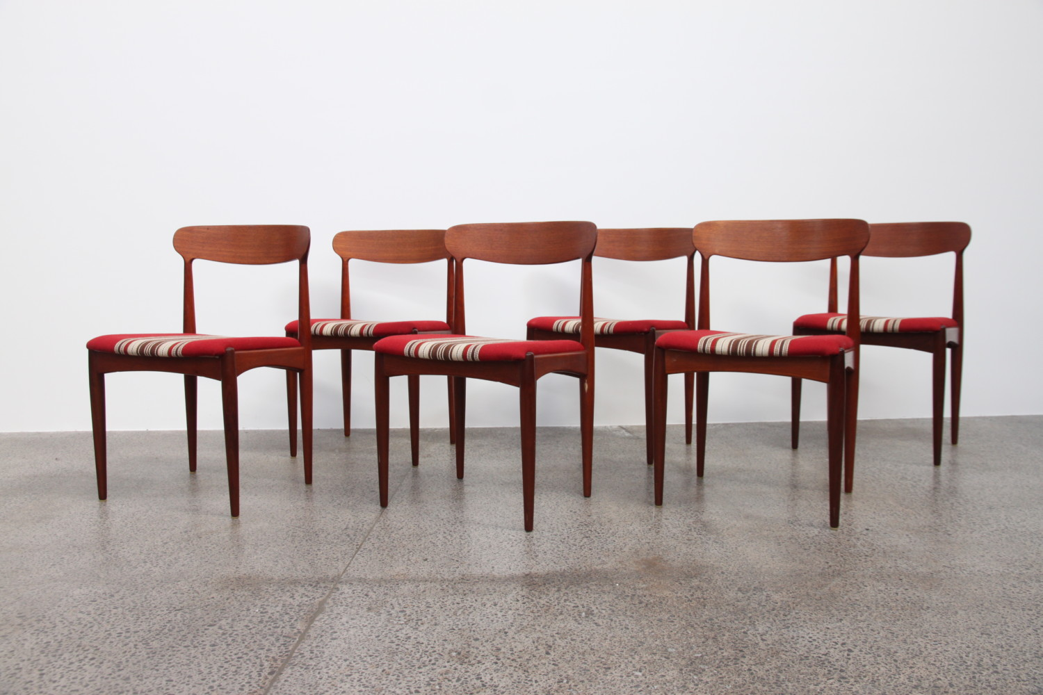 Dining Chairs by Johannes Andersen