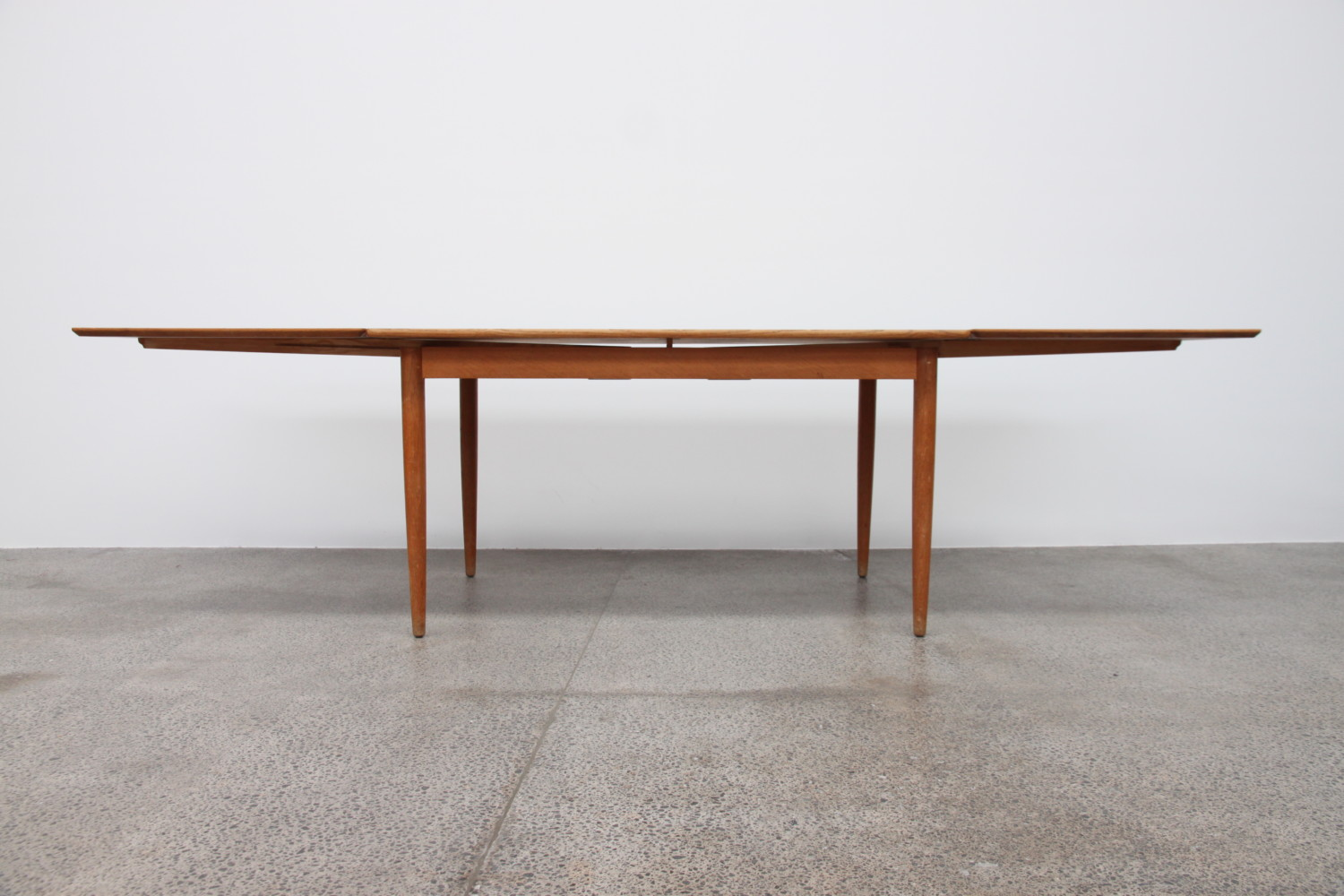 Oak Dining Table By Hans Wegner