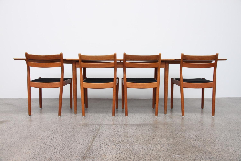 Oak Dining Table By Hans Wegner