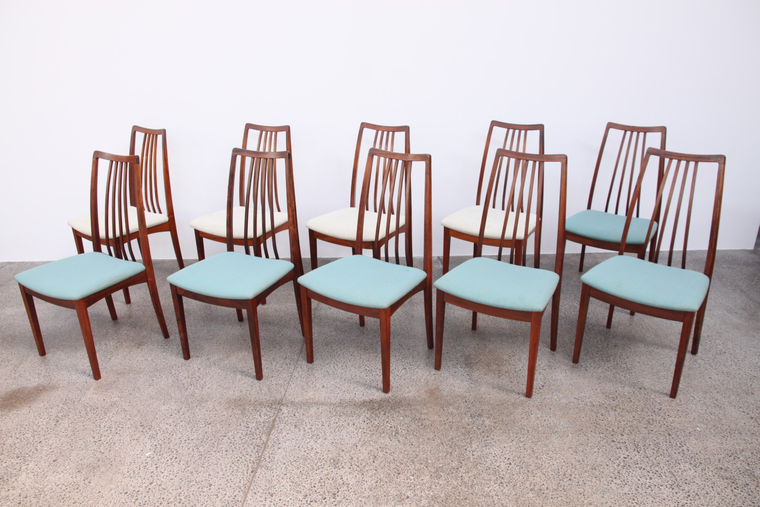 Danish Highback Dining Chairs