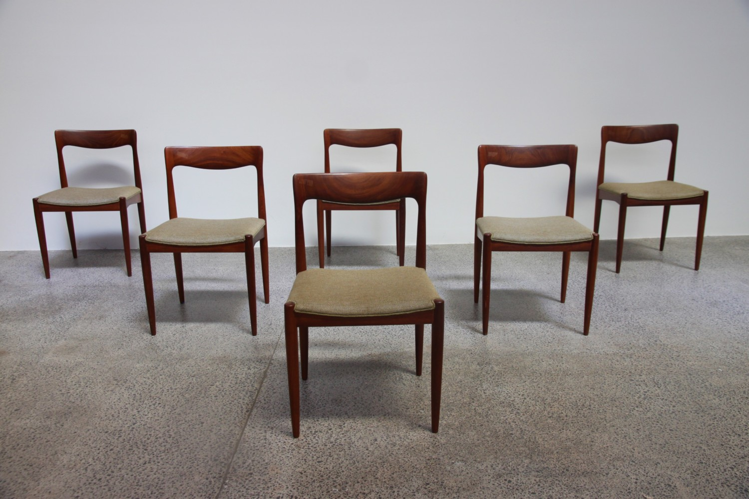 Solid Teak Dining Chairs