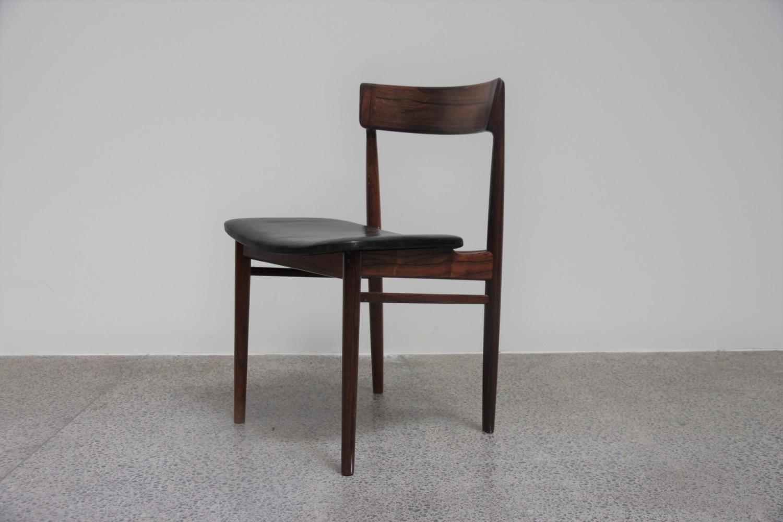 Rosewood Dining Chairs by Rosengren Hansen