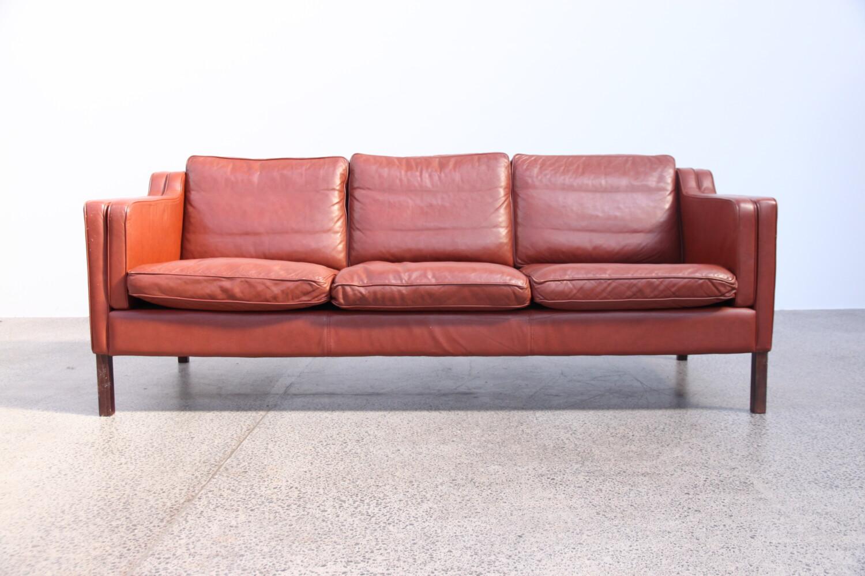Stouby Danish Leather Sofa