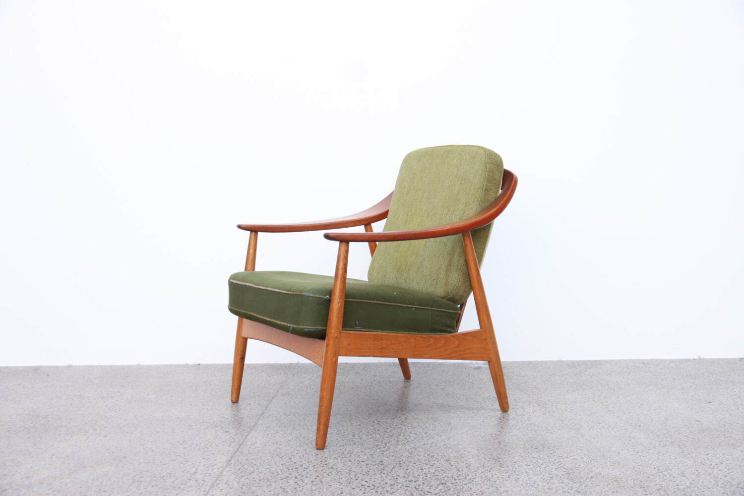 Armchair by Illum Wikkelso