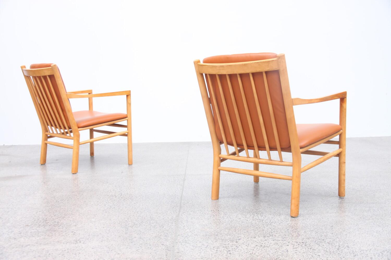 Danish Armchairs By Erik Jorgensen