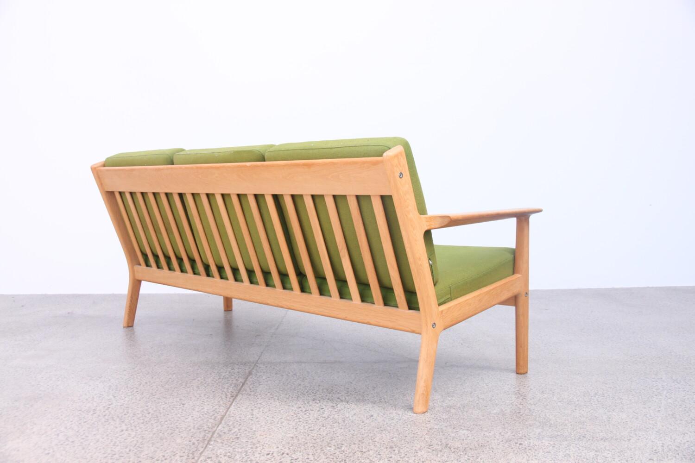 Oak and Wool Sofa by Hans Wegner